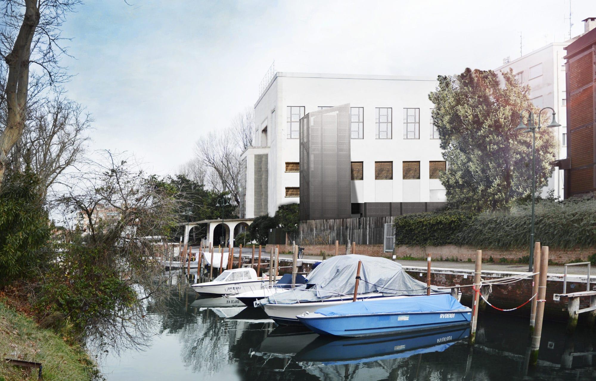 Restauro dell'Ex Casinò al Lido di Venezia   AI Progetti